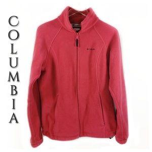 Columbia Sportswear Company Fleece Zip Up Jacket